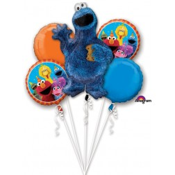 Bouquet Cookie Monster