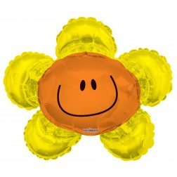 "14"" Smiley Yellow Flower"