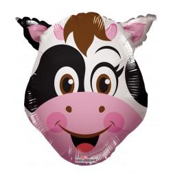 "14"" COW HEAD MINI SHAPE"