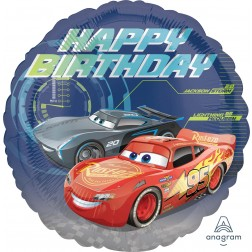 Standard Cars 3 Happy Birthday