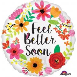 Standard Feel Better Soon Floral Wreath