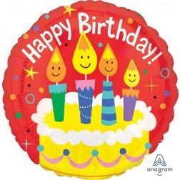 Jumbo Happy Birthday Candles