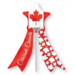 MiniShape Canadian Star With Ribbon