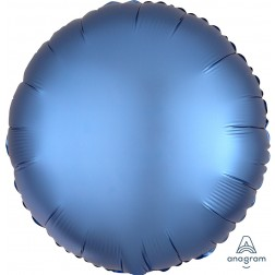Standard Satin Luxe Azure Circle  (Flat)