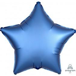 Standard Satin Luxe Azure Star  (Flat)