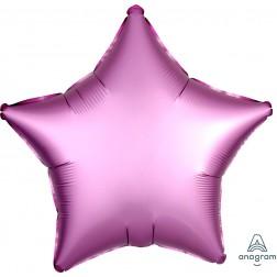 Standard Satin Luxe Flamingo Star  (Flat)