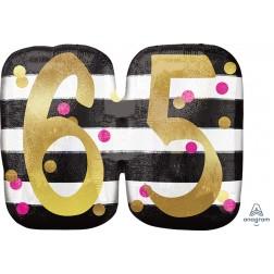 SuperShape Holographic Pink & Gold Milestone 65