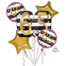 Bouquet Pink & Gold Milestone 65