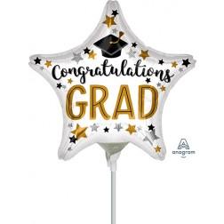 """9"""" Congratulations Grad Star"""