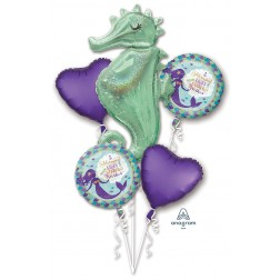Bouquet Mermaid Wishes Seahorse