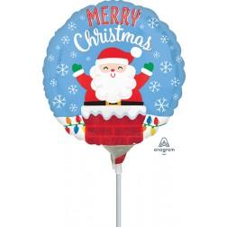 """9"""" Santa in Chimney"""