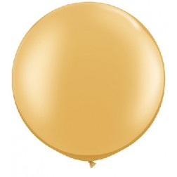 """Metallic 30"""" Gold 02Ct"""