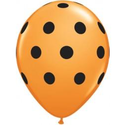 "11"" Big Polka Dots 50Ct"