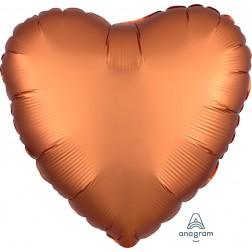 Standard Satin Luxe Amber Heart