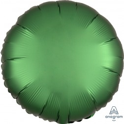 Standard Satin Luxe Emerald Circle