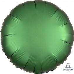 Standard Satin Luxe Emerald Circle  (Flat)