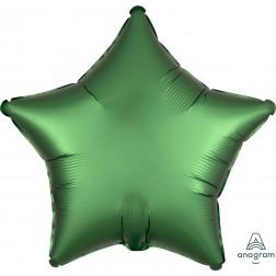 Standard Satin Luxe Emerald Star
