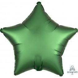 Standard Satin Luxe Emerald Star  (Flat)