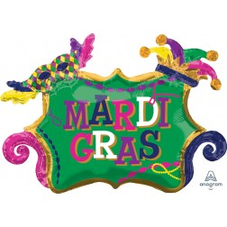 SuperShape Mardi Gras Celebration