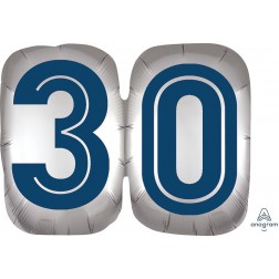 SuperShape Happy Birthday Man 30