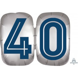 SuperShape Happy Birthday Man 40