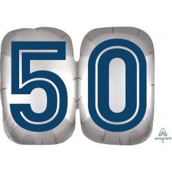 SuperShape Happy Birthday Man 50
