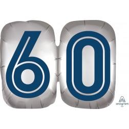 SuperShape Happy Birthday Man 60