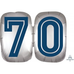 SuperShape Happy Birthday Man 70