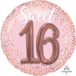 Multi-Balloon Sixteen Blush