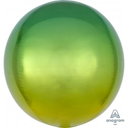 Ombre Orbz Yellow & Green