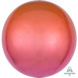 Ombre Orbz Red & Orange