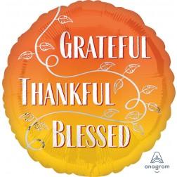 Standard Grateful, Thankful, Blessed