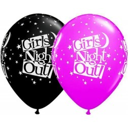 "11"" Girls Night Out Stars 50Ct"