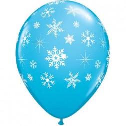 """11"""" Snowflakes & Sparkles-A-Round (50ct)"""
