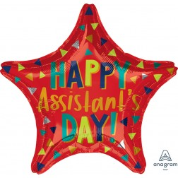 Standard Star Assistant's Day Red Star