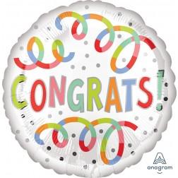 Standard Congrats Swirls