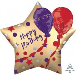 EZ-Fill: Multi-Balloon Satin Birthday Balloons