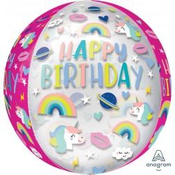 Orbz Clear Birthday Trendy Icons