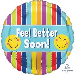 Standard Feel Better Soon Stripes