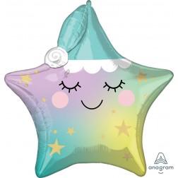 Multi-Balloon  Sleepy Little Star