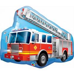 "36"" Red Fire Truck Shape"