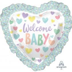 SuperShape Baby Ruffle Heart