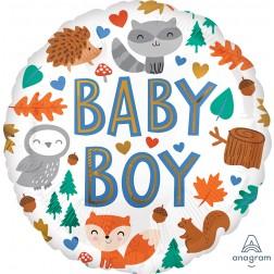 Standard Baby Boy Woodland Fun