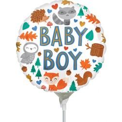 """4"""" Baby Boy Woodland Fun"""
