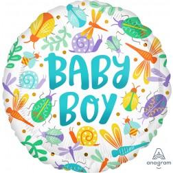 Standard Baby Boy Watercolor