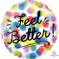 Standard Feel Better Watercolor Dots