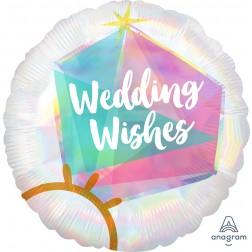 Standard Holographic Iridescent Wedding Ring