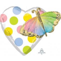 Multi-Balloon Birthday Butterfly