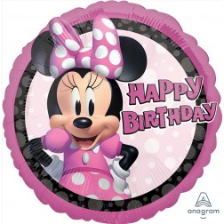 Standard Minnie Mouse Forever Birthday