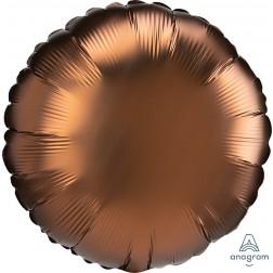 Standard Satin Luxe Cocoa Circle